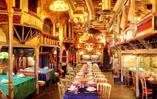 Sarastros Restaurant Covent Garden