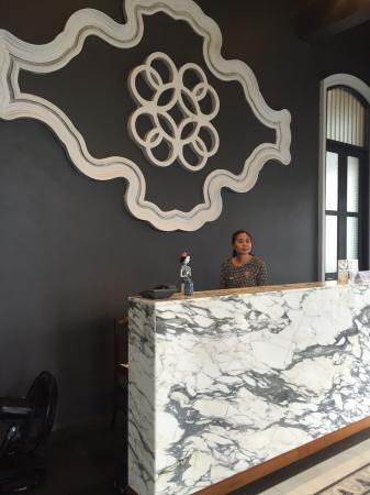Wichit, Tailandia: Reception Desk