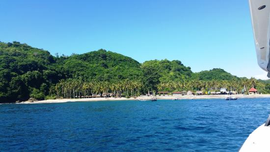 Kerobokan, Indonesia: One of the incredible swimming/snorkelling stops we made