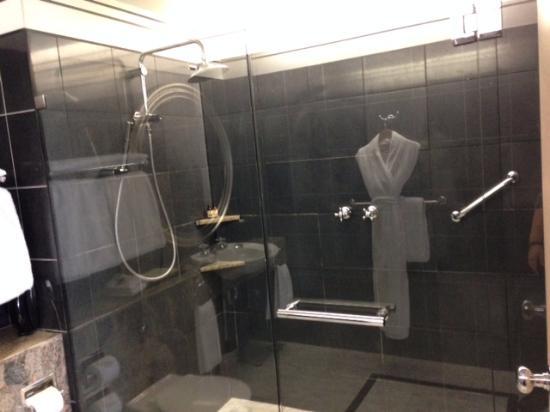 Hyatt Hotel Canberra: great bathroom