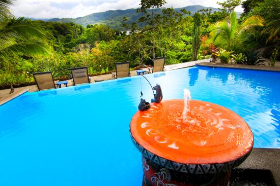 Nuevo Arenal, Kosta Rika: Toad Hall Hotel Arenal - View from Pool