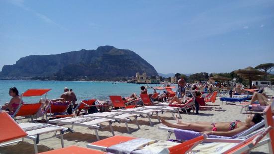 Ombelico Del Mondo Mondello: Spiaggia