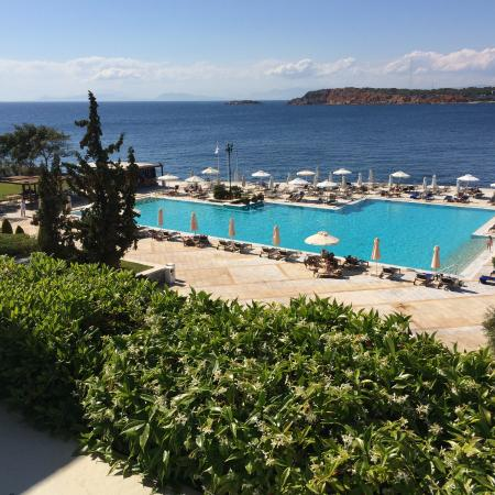 Vouliagmeni, Hellas: view