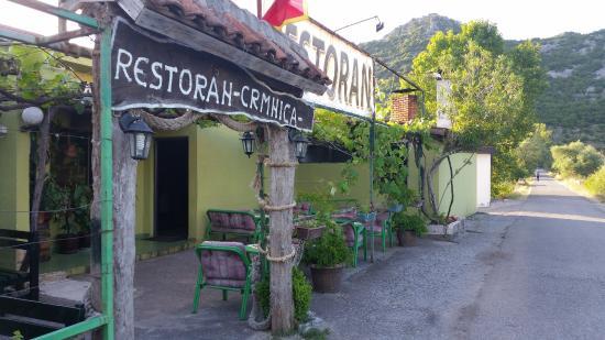 Herceg-Novi Municipality, Montenegro: restaurant entrance