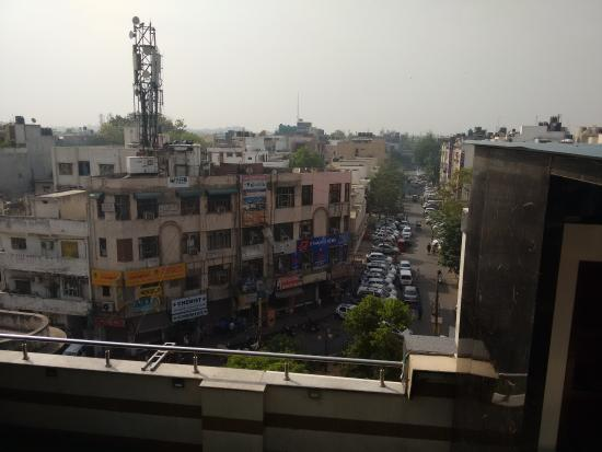 Hotel Gulnar: vieuw from rooftop ( while having breakfast)
