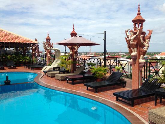 Okay 1 Villa: Amazing rooftop!