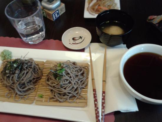 Ta-Ke Sushi : Zaru Soba with dipping sauce
