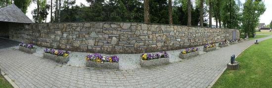Malmedy Massacre Memorial . Malmedy Belgium
