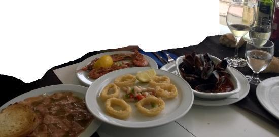 El Volante : Primeros platos ( que compartimos como pica-pica )