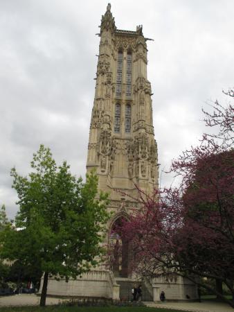 saint jacques tower picture of tour saint jacques paris tripadvisor. Black Bedroom Furniture Sets. Home Design Ideas