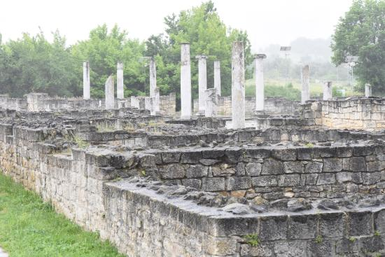 Abritus Ancient Fortified Roman City Near Razgrad Bulgaria