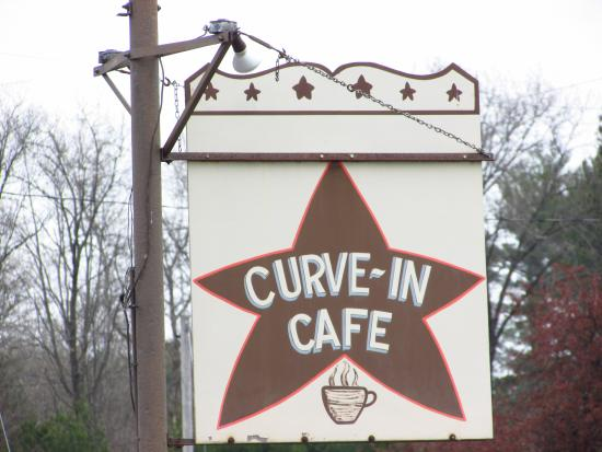 Redgranite, WI: Cafe sign