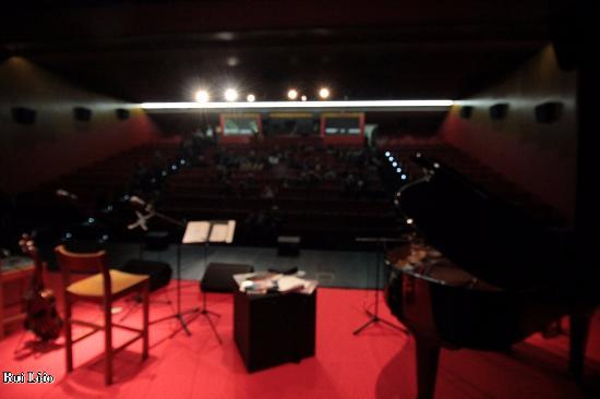 Gois, Portugal: Olhando do palco