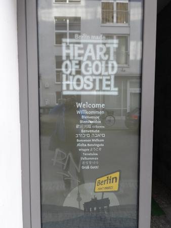 Heart of Gold Hostel: Welcome