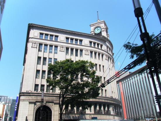 brand new 10e9c 77162 銀座和光本店(服部時計店) 時計台- Picture of Wako Ginza ...