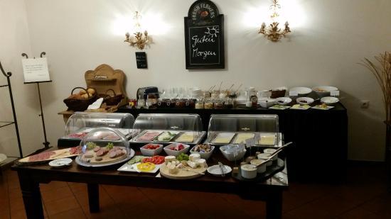 Bellevue Hotel: Frühstücks Büffet