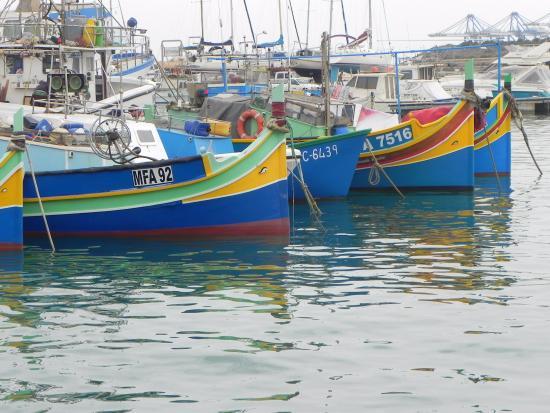 Marsaxlokk, Malta: Harbour scene
