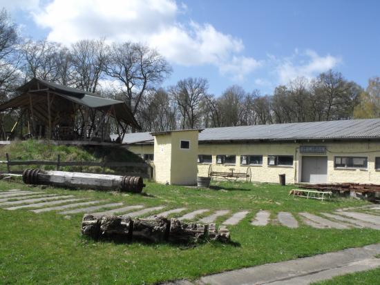 Mirow, ألمانيا: alte Mühlenteile und Eventhalle
