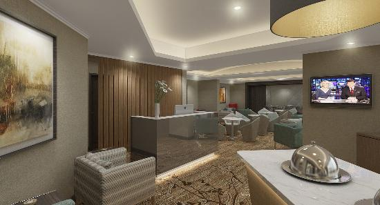 Hotel Menara Peninsula : Executive Lounge (renovation - expected completion date of July, 2016)