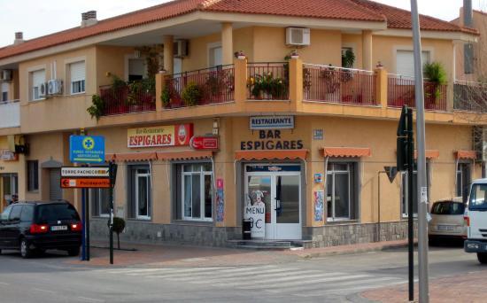 Roldán, España: Bar Restaurante Espigares, Roldan, Murcia