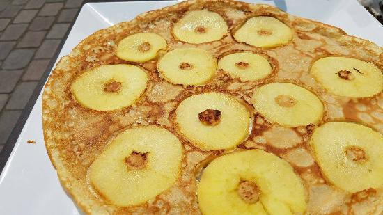 Eetcafé 't Centrum: Apple Pancake