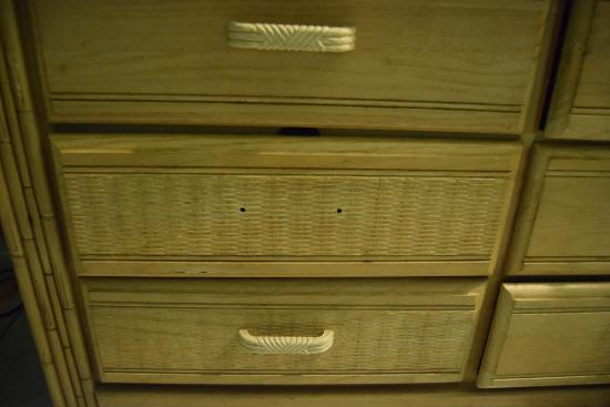 A Sea Garden Resort: drawer in room