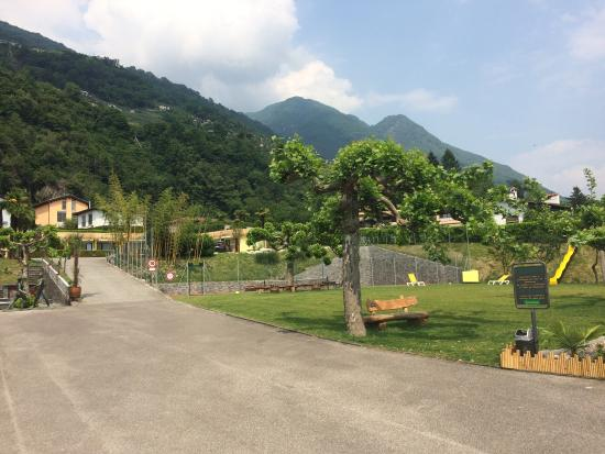 Bamboohouse Riazzino: Hübsche Anlage - nette Bedienung - feines Essen