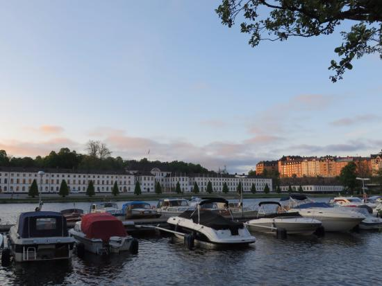 Solna, Sweden: Karlberg Palace from afar