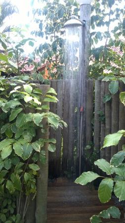 Caraiva, BA: Chuveiro