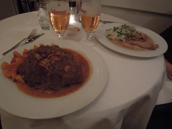 Gasthaus Woracziczky: Main courses