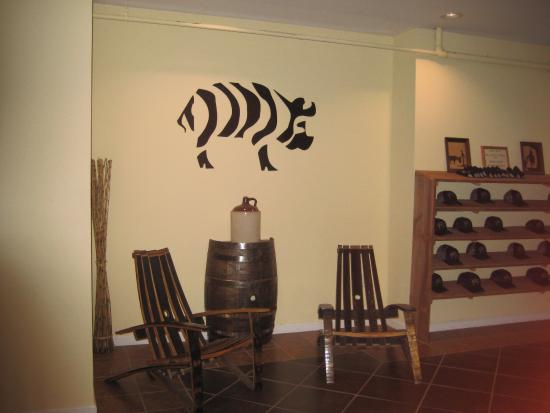 Chairs Made Out Of Barrels Picture Of Striped Pig Distillery
