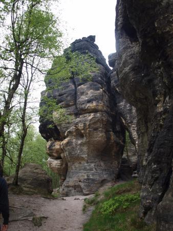 Tisa, República Tcheca: Tyssa Walls