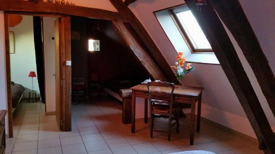 Indre, Fransa: la mansarde