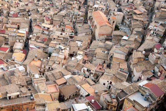 Caltabellotta roof tops