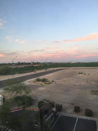 Avondale, AZ: Sunset from Living Room in 2 Bedroom, 2 Bathroom Suite