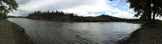 Secluded on Yellowstone River