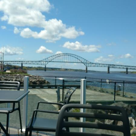 Miramichi, Canadá: Beautiful view from the patio