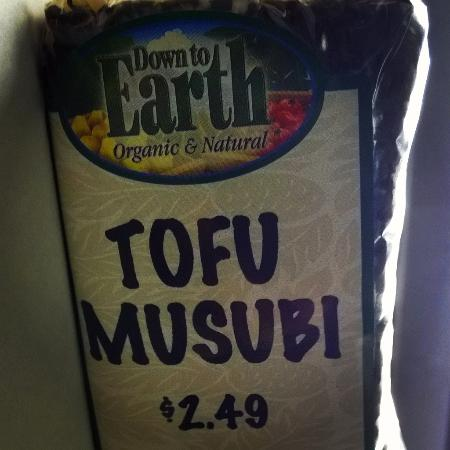 Tofu Musubi from Down to Earth