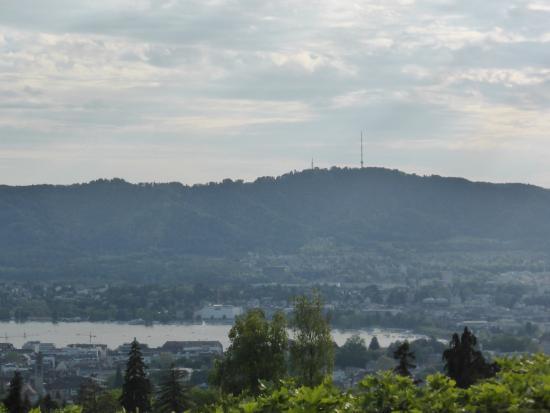 Zürih, İsviçre: Aussicht auf den Uetliberg
