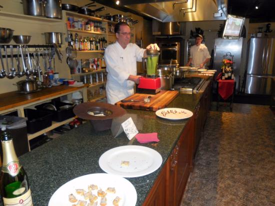 Chef John Gonzales Picture Of A Chef S Kitchen
