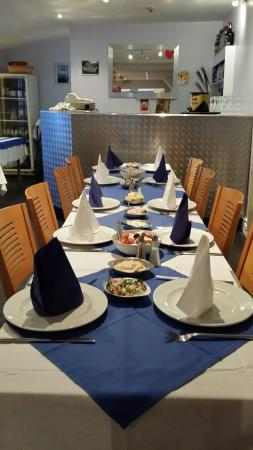 Gabby's Greek Taverna: Thank you Gabby to you and your team what a fantastic night we had the place look beautiful