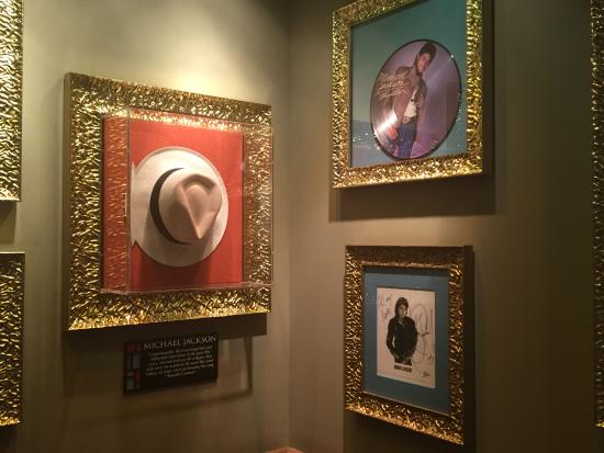 Michael Jackson Fedora - Picture of Hard Rock Cafe f684150d554