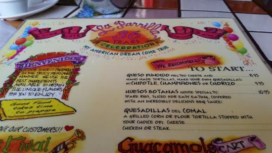La Parrilla Restaurant Cesar Chavez