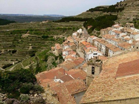 Ares del Maestre: The Village and Surroundings from the Castle