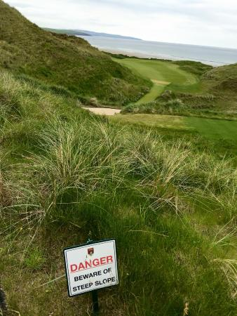 Ballybunion, Ierland: You'll get your exercise.