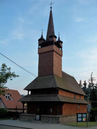 Blansko, Czech Republic: Wooden church