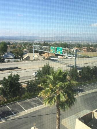 Hampton Inn & Suites Highland: View from Room 429, Hampton Inn-Highland, CA