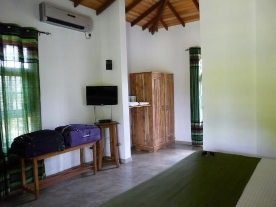 Tissamaharama, Σρι Λάνκα: Our lodge - room