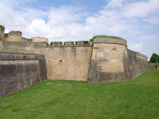 Blaye, Fransa: The fortification of the citadel was quite remarkable
