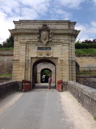 Blaye, Fransa: The main entrance to the citadel